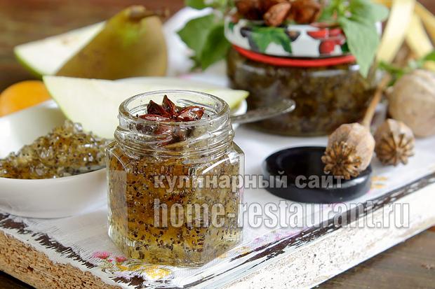 рецепт из груши варенье